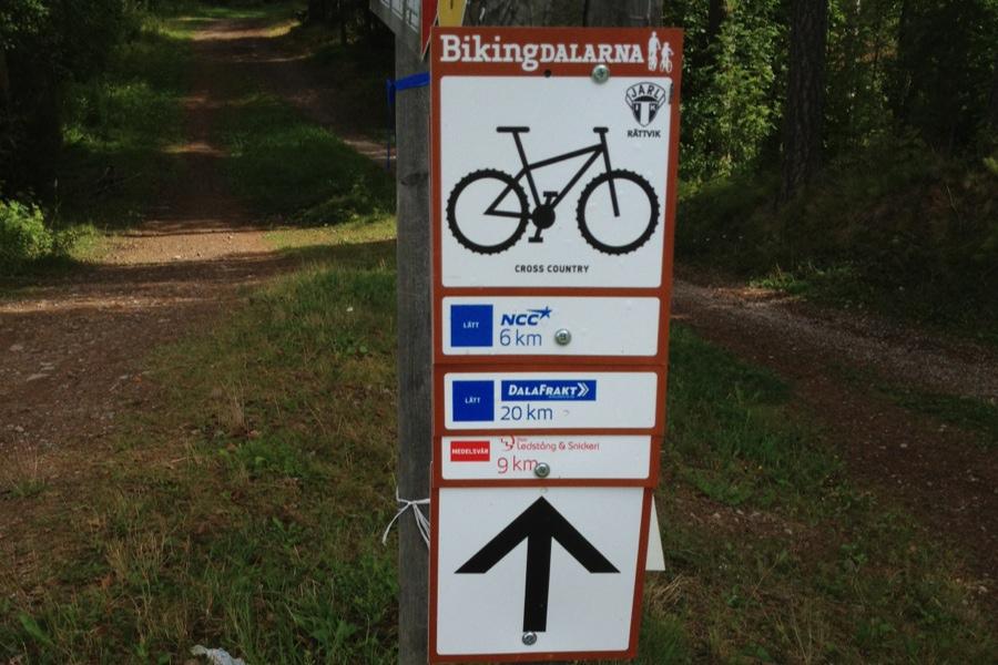 Turtips- Biking Dalarnas leder i Rättvik
