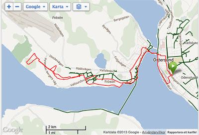 Intervallbana, partempo och Finnmarken