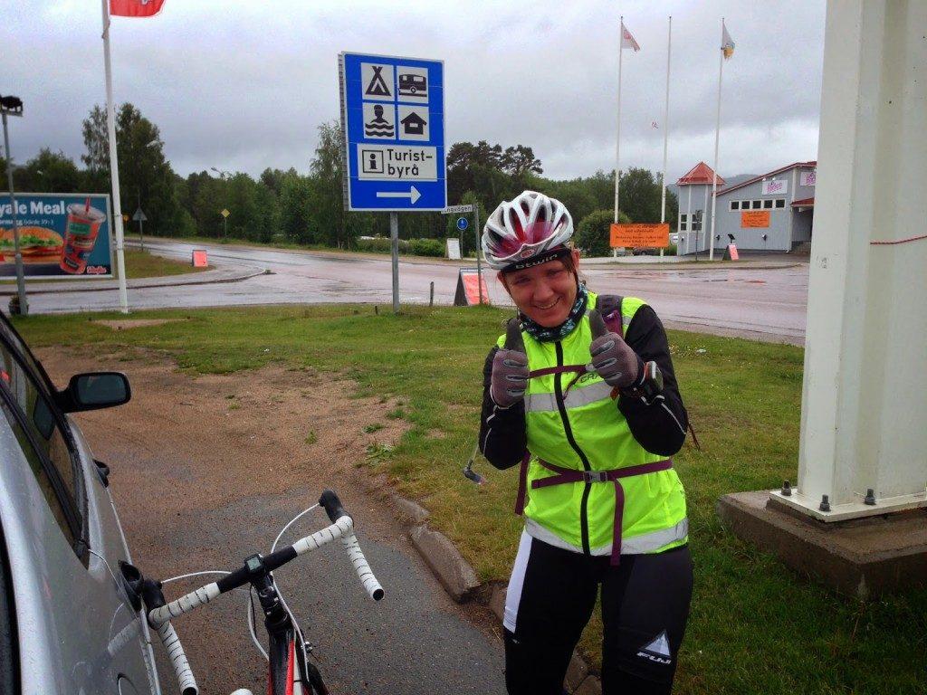 261 km- en blöt historia