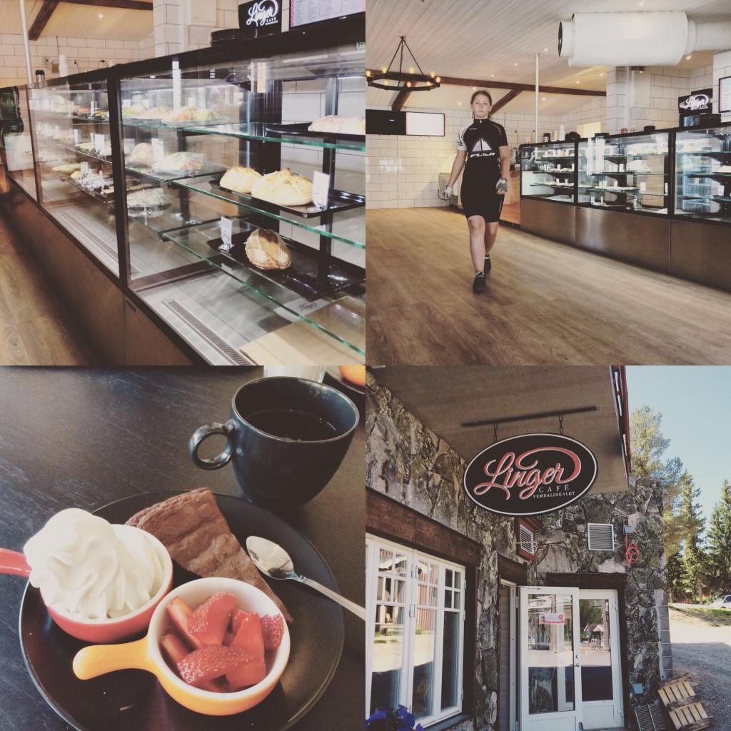 #cykelfika – Lingers café på Vemdalsskalet