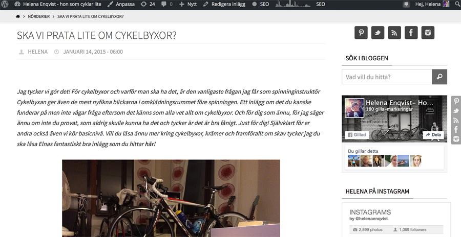 cykelbyxa