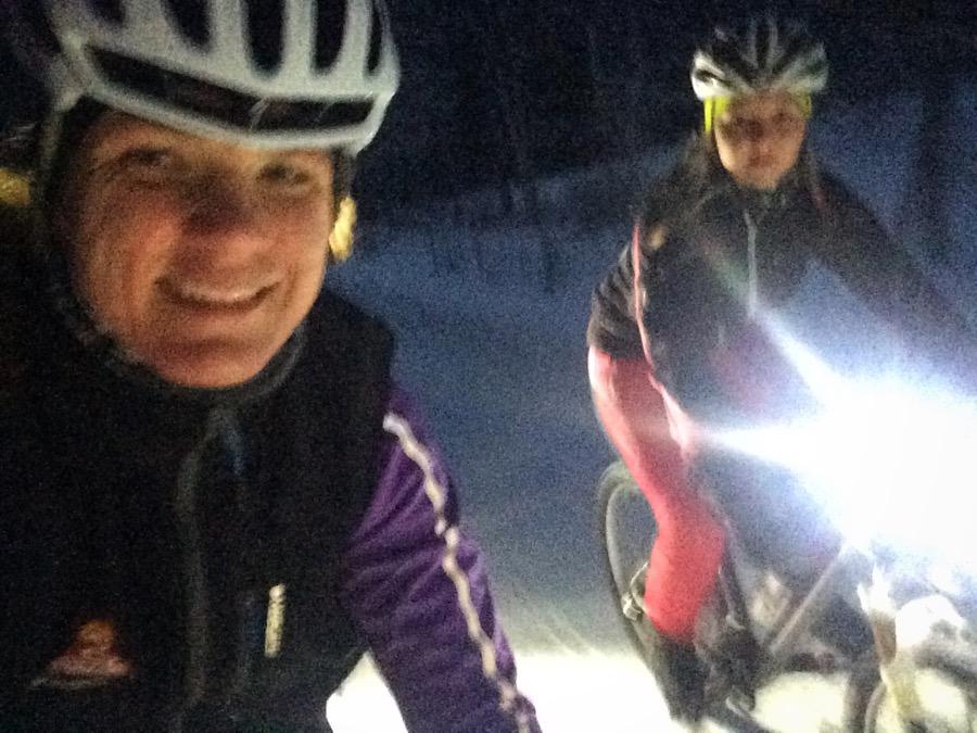 Cecilia ger sig inte, hon har bestämt sig för att komma i cykelform inför Spanienresan i april.