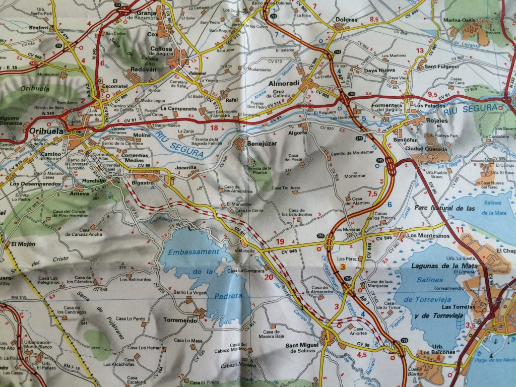 karta över alicante med omnejd Cykling i Torrevieja   det du behöver veta   Helena Enqvist karta över alicante med omnejd