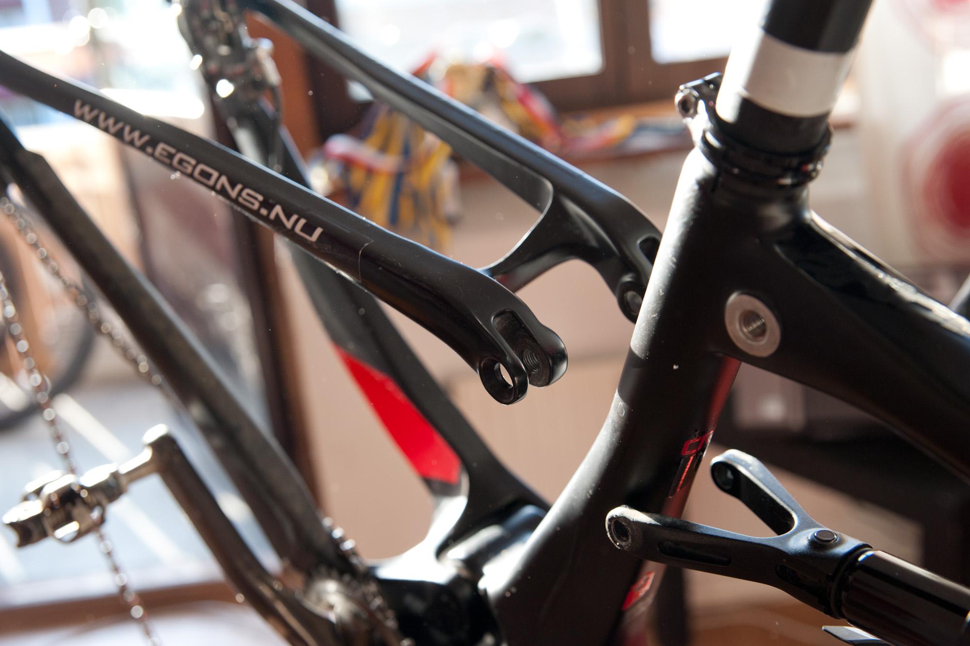 cykel vevparti knakar